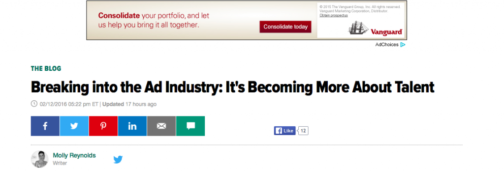 MOFILM in Huffington Post
